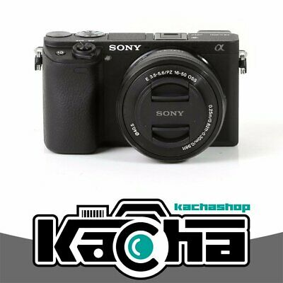 NUOVO Sony Alpha a6300 Mirrorless Digital Camera with 16-50mm Lens (Black)