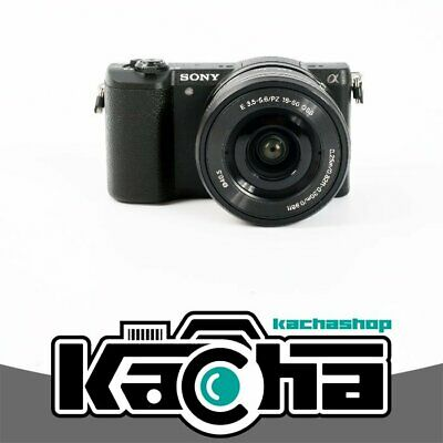 NUOVO Sony Alpha a5100 Mirrorless Digital Camera with 16-50mm Lens (Black)
