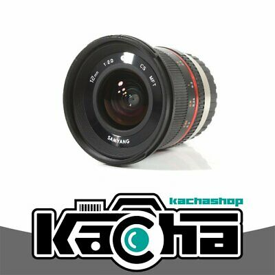 NUOVO Samyang 12mm f/2.0 NCS CS Lens for Micro Four Thirds