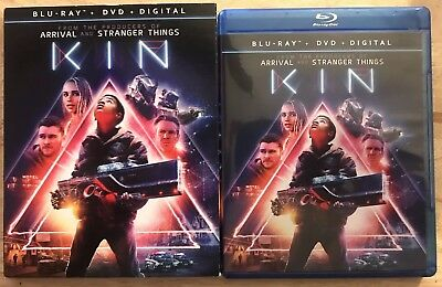 Kin Blu Ray + Dvd With 2 Disc Set Slipcover Sleeve Free Shipping