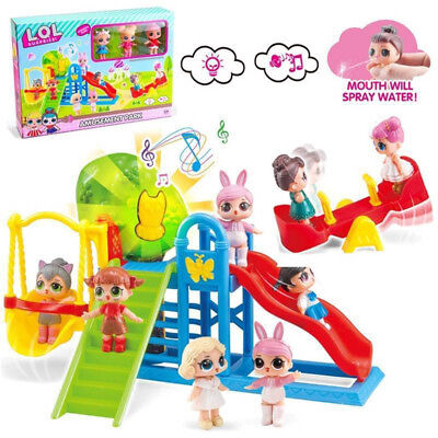 LOL Surprise Doll Park House Game Slide Play Set Baby Girls Kids Gifts Toys UK