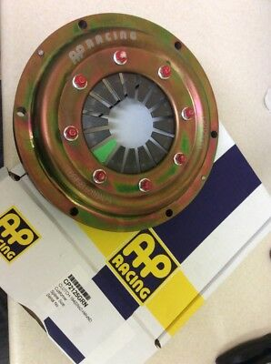"AP Racing 7.25"" 184mm 2 Plate Sintered Race Clutch With Green Diaphragm BNIB New"