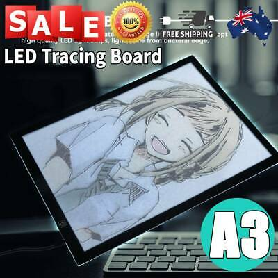 A3 LED Light Box Tracing Board Thin Art Design Stencil Drawing Pad Copy Lightbox