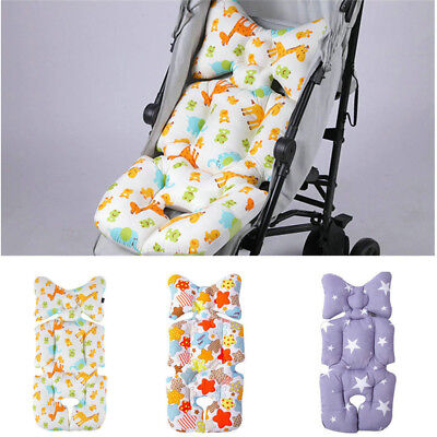 Newborn Baby Warm Mat Pushchair Cotton Pad Cover Car Seat Stroller Liner Cushion