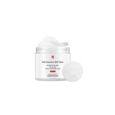 [TOSOWOONG] SOS Intensive Red Clinic All-in-one Skin Clear Blemish Pads 155ml