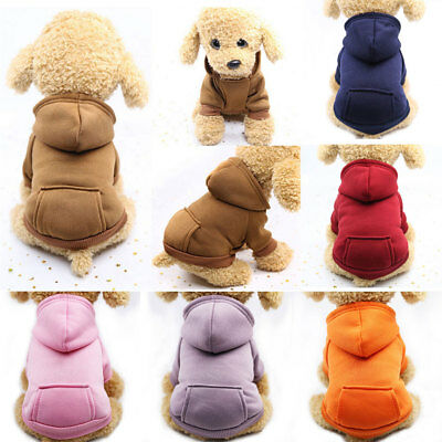 Winter Coat Hoodies New Apparel Clothes Warm Jumpsuit Dogs Cats Puppy Pet USA