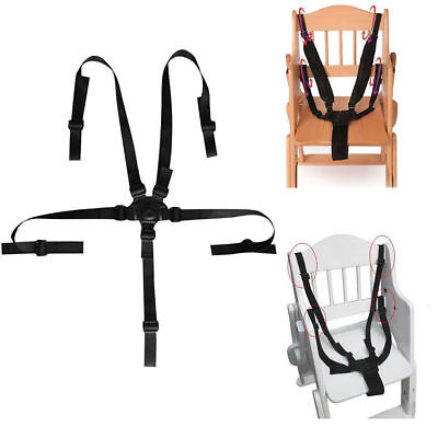 5 Point Baby Kids Safety Chair Harness Belt Strap High Chair Feeding Car Seat AU