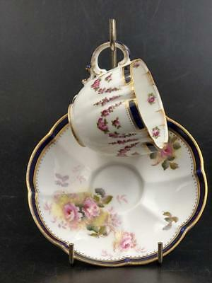 George Jones & son Crescent England Coffee cup and saucer early 20th century