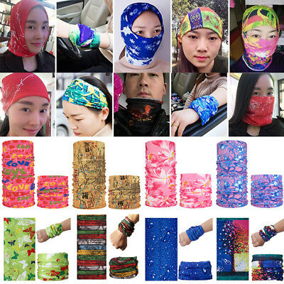 Unisex Multifunction Head Face Mask Outdoor Sport Neck Wrap Scarf Headwear