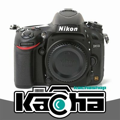 NUEVO Nikon D610 Digital SLR Camera Body Only Black