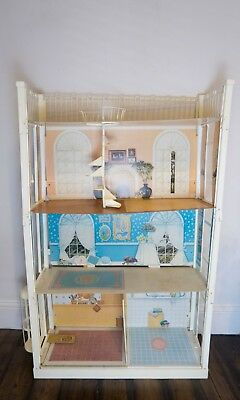 Vintage 1970s Sindy House with Lift - No Furniture - Dollhouse Doll House