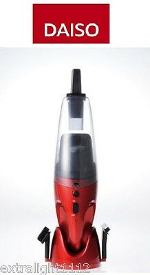 New Japan Daiso Hand Rechargeable 7.2V Wet&Dry Portable Cordless Vacuum Cleaner