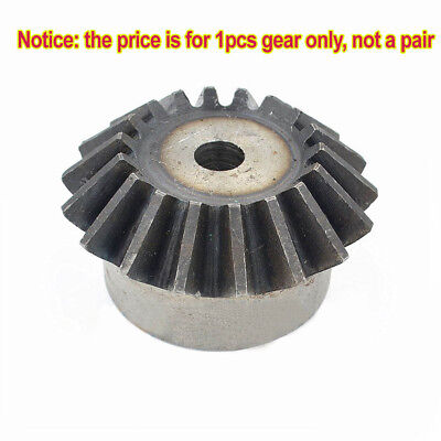 1.0 Mod 25/26/28/30T Motor Bevel Gear 90° 1:1 Pairing Use Metal Bevel Gear x1Pcs