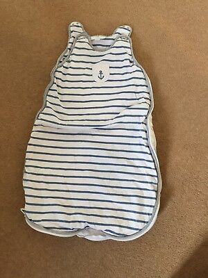 The Little White Company Baby Sleeping Bag 0-6 Months