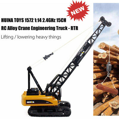 HUINA TOYS 1/14 2.4GHz 15CH RTR RC Crane Engineering Truck Sound Remote Control