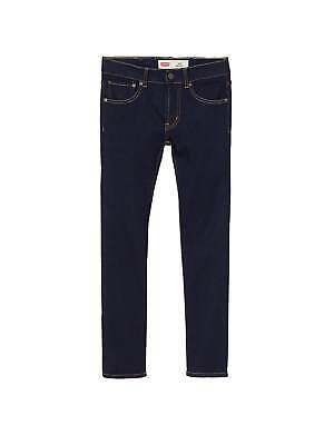 Levi's® Kids 510 Skinny Fit Dark Denim Jean