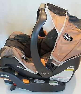 Chicco 2014 Keyfit 30 Infant Car Seat With Pads And Cover PPX212B