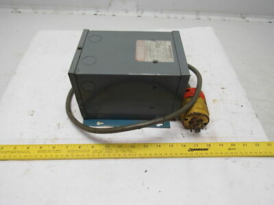 Square D 1S1F 240/480V Pri 240/120V Sec 1Ph 1Kva Rainproof Transformer