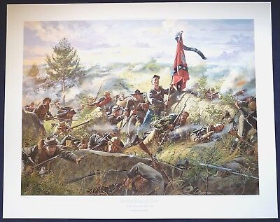 LITTLE ROUND TOP Don Troiani, Gettysburg Series Limited Edition Litho w/COA MINT