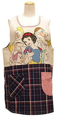 Snow White and the Seven Dwarfs side button character apron Disney Navy 51807095