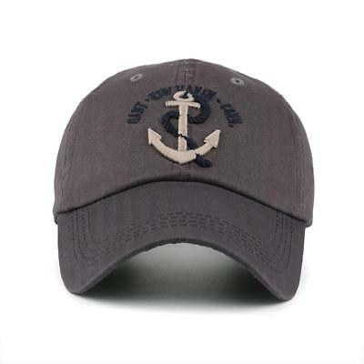 28ad5c3dbd3 Baseball Hat Anchor Trucker Hats for Men - Baseball Cap Captain - Cotton