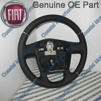 Fiat Ducato Peugeot Boxer Citroen Relay Leather Steering Wheel 2006-Onwards OE