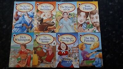 Ladybird books x 8, Traditional Tales in paperback, excellent condition