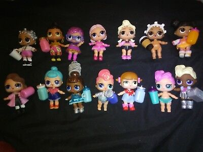 13 Lols For Sale Separately, sold as seen (pink baby is no longer available)