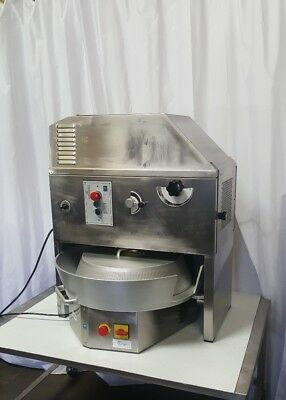 UNIVEX PizzaExpress Commercial DOUGH ROUNDER DIVIDER COMBO mod CDR-23 with VIDEO