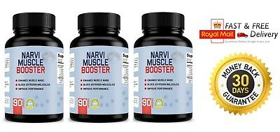 NARVI MUSCLE BOOSTER (3x90 Capsules) Enhance Muscle - Improve Performance
