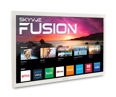 "SkyVue Fusion 50"" 400NIT 4K SMART OUTDOOR TV Weatherproof Tv Black Friday Sale!!"