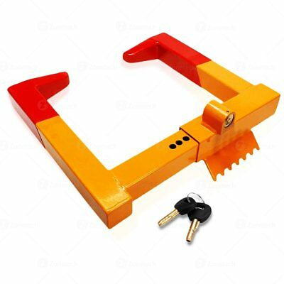 Security Vehicle Wheel Tire Lock Clamp Boot Tire Claw Anti-Theft Protective Lock