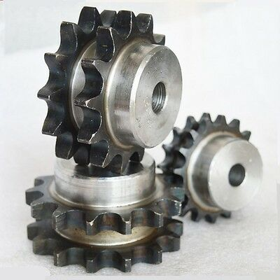 "#40 Chain Drive Sprocket 14T Double Strand Pitch 1/2"" 12.7mm 08B14T Sprocket"