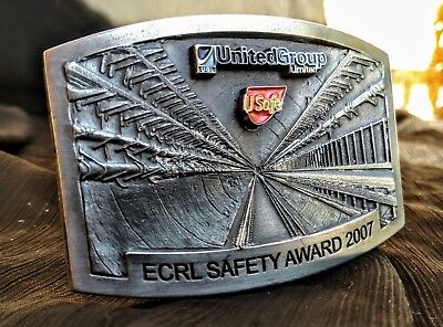 Railway Belt Buckle - Epping To Chatswood Rail Line (Ecrl) Safety Award 2007