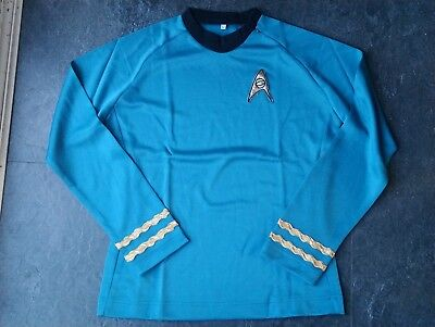 Star Trek Top, Spock / McCoy, Blue, Large