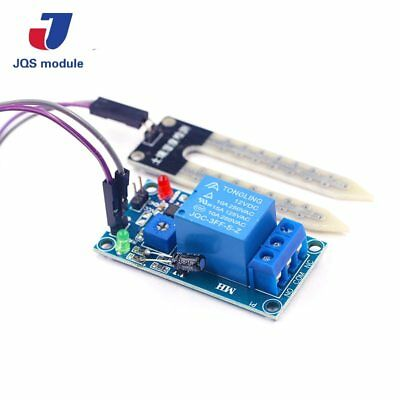 Soil Moisture Sensor 12V Relay Control switch starting humidity of watering