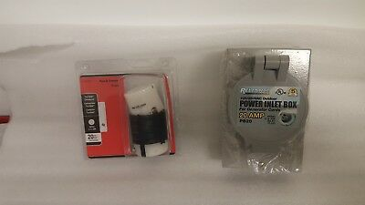 NEW RELIANCE PB20 20 Amp Outdoor Generator Power Inlet Box