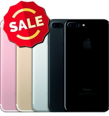 Apple iPhone 7 Plus 32 128GB 256GB GSM Unlocked AT&T T-Mobile Black Red Silver