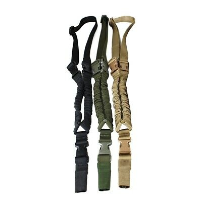 Tactical Lanyard Safety Rope Task Belt One Point Quick Release Rifle Sling Hot