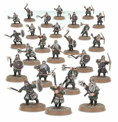 Warhammer Dwarf Warriors The Lord of the Rings plastic new