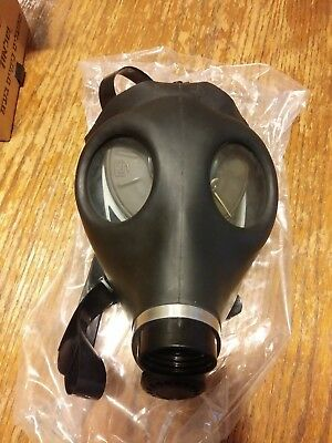 Unused Israeli GAS MASK in original box SEALED FILTER with instruction sheet NEW