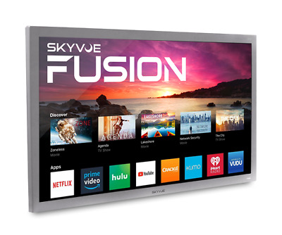 "SkyVue Fusion 55"" 400NIT 4K SMART OUTDOOR TV Weatherproof Tv Black Friday Sale!!"