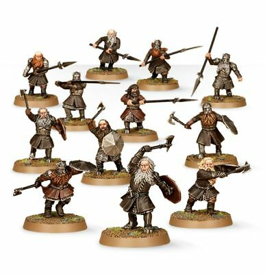 Warhammer Warriors of Erebor The Lord of the Rings plastic new
