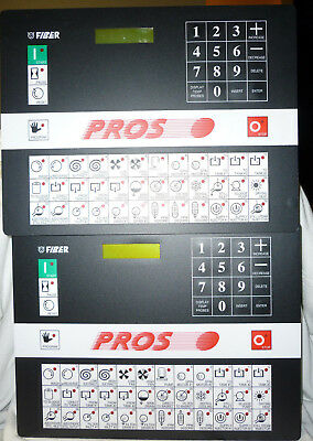 2 - Fiber EL7 Dry Cleaning Controller Microprocessor Computer Boards Pros Vectra