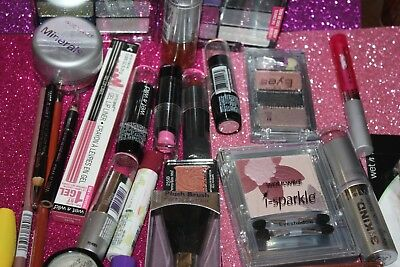 25 PIECES LOT WET N WILD Assorted COSMETICS BEST MIX /SEALED/NEW
