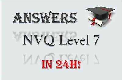 Nvq Level 7, 2, 3, 4, 5, 6 Answers - Any Construction Occupation- Uk