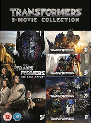 Transformers 5 Movie Collection Boxset (UK IMPORT) DVD NEW