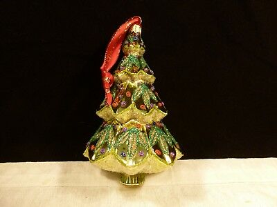 New Waterford Glass Christmas Ornament Oh Christmas Tree Holiday Heirlooms