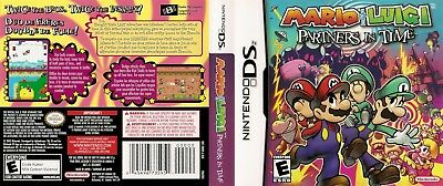 Nintendo DS Replacement Case and Cover Mario and Luigi: Partners in Time