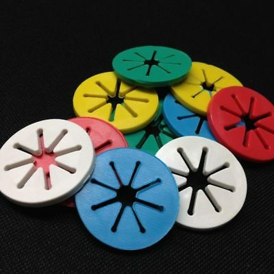 Of Washing Color Sorters Holder Ring Colorful Rings Locks 7Pcs Sock Laundry